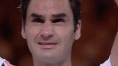 New trending GIF on Giphy (I AM THE VIDEOGRAPHER) Tags: ifttt giphy tennis winner emotion champion roger federer emotional australian open aussie champ happy tears 2018 mens championship final ao18