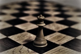 No hay nada como ganarle a un hombre en el ajedrez, y luego hacerle el amor para enseñarle como se mueve una Reina.