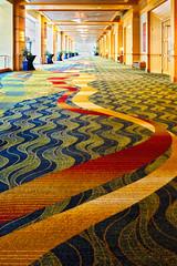 Hotel Hallway (btusdin) Tags: 7daysofshooting week29 serene geometrysunday hallway hotel hotelcarpet