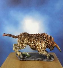 Brass-Bronze-Gold-Bull-Reaper-Miniature-03 (Dead Bard Miniatures) Tags: dd dungeons dragons reaper ralpartha grenadier warhammer wotc chainmail pathfinder painted miniature mini