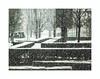 Par la fenêtre (hélène chantemerle) Tags: jardin àlafrançaise lenôtre bosquets arbres neige garden bushes trees snow white