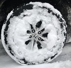 #honda #snow #tired (photograf4) Tags: ifttt instagram snow winter car wheel tire february