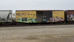 IMG_1430 (jumpsoner) Tags: traingraffiti trains traingraff trainspotting tracksides benching benchingsteel benchingtrains bencher boxcars benchingfreights bgsk benchinhsteel railroadphotography railroad railfan graffiti graffculture freights freightculture freightgraffiti foamer foamers freghtculture