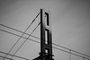 New York (Lux Obscura) Tags: steel pillar sunset light shadow wires structure abstract sky acros filmsimulation