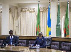 President Kagame and President Lungu hold joint press conference   Kigali, 22 February 2018 (Paul Kagame) Tags: kagame edgar lungu rwanda au africa zambia