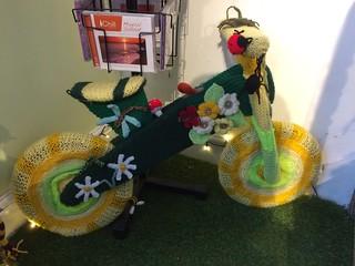 Yarn Bombed Bike