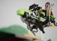 Luddite Custom Assault Racer (Deltassius) Tags: lego moc speederbike flying motorcycle district 18