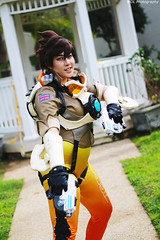 IMG_0277 (willdleeesq) Tags: cosplay cosplayer cosplayers coslosseum coslosseum2018 overwatch tracer