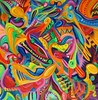 Organic Clown (MattCrux) Tags: psychedelic lsdtrip acid abstract trippy colorful rainbow lsd strange weird drug drugs weed high trip love acrylic painting acrylicpainting traditional canvas paint painted artist drawing illustration art arts expressive different beautiful artsy creativity creative