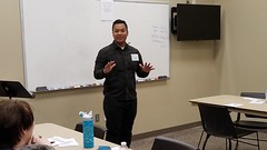Rise and Shine International and Table Topics speech contests, Saturday, Feb. 17, 2018. (Rise and Shine Toastmasters) Tags: toastmasters leadership publicspeaking confidence mesa arizona saturday fun excitement training friendship networking