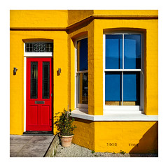 Primary residence (Aliy) Tags: primary colours residence house bright colourful red yellow blue primarycolours explored