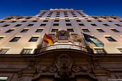 Anochecer por Madrid (cristianff09) Tags: arquitectura españa thebestphoto edificio line madrid nocturna night largaexposicion canon 600d