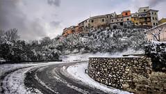 Santa Maria a Monte, via del Crinale (saveriosalvadori) Tags: santamariaamonte pisa tuscany architecture architettura snow