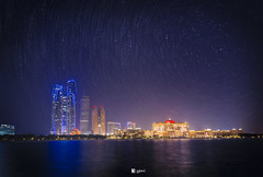 The Ritz Carlton Abu Dhabi Grand Canal (Nabeel Iqbal) Tags: the ritz carlton abu dhabi grand canal uae nightscape star trails travel camera canon 6d 1740mm long exposure colors cityscape photography architecture landscape dubai middle east