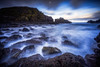 Cove in Chaos (Augmented Reality Images (Getty Contributor)) Tags: portknockie longexposure wavesseaweed composition landscape leefilters water scotland coastline morayfirth canon clouds seascape rocks unitedkingdom gb