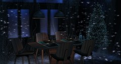 Place we were made (RyanTailor (Taking Clients)) Tags: furniture deco decorate kitchen set chair table ~aka~ alsoknownas indoor winter christmastree applefall mancave