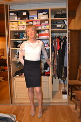 DSC_0002 (magda-liebe) Tags: travesti tgirl stockings shoes skirt crossdresser french highheels jean