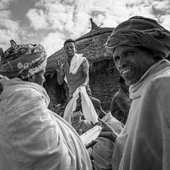 Not entirely convinced (Frank Busch) Tags: frankbusch frankbuschphotography bw blackandwhite buying cloth ethiopia fabric laibela market monochrome trading travel wwwfrankbuschname