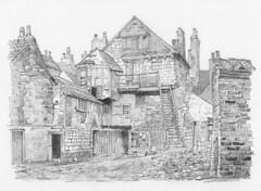 Holy Trinity Priory gateway, Micklegate, York