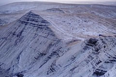 Cold blows the wind (pauldunn52) Tags: cribyn snow terraces mountain brecon beacons south wales