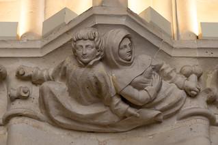 Carved capital | Salle des Gardes | Conciergerie | Paris-16