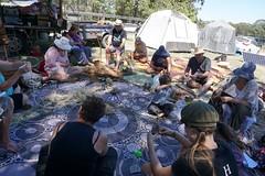 Wild by Nature Village Camp (WildcraftAustralia) Tags: wildcraftaustralia nature weaving fibreart fire starting