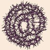 Mikado Typo - GeneTypo 052. (spaghetticoder77) Tags: spaghetticoder77 typography generative genetypo intersection collision lines mikado vector proce55ing processing typeface