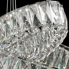 Lustre collection Crystal 498011602 Chrome (emmanuel_delahaye) Tags: lustres mobilier deco chiaro recollection decointerior interiordesign design home luminaires suspensions lu