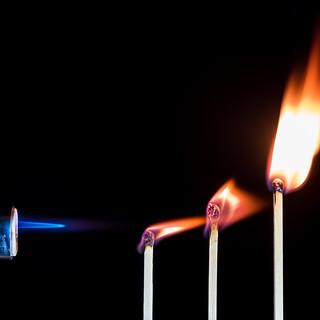 Flame Chain Reaction