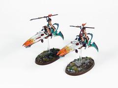 Skyweavers (Uruk's Customs) Tags: games workshop warhammer wh40k eldar aeldari drukhari harlequins skyweavers masque