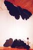 Black Clouds (kirstiecat) Tags: latifaechakahch blackclouds sculpture art artinstallation boy child nationalgalleryofcanada surreal dream diewithoutartblack cloudsottawacanadacloudsblack cloudsdie without artmultiple exposure creative artistic