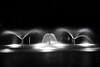 Fountain 2939 (remiklitsch) Tags: fountain night longexposure blackandwhite garden santamonica nikon remiklitsch city urban watergarden