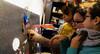 2018-02-03 - Samedi - 34/365 - Magnetized - (Garbage) (Robert - Photo du jour) Tags: 0100régionparisienne fontenaysousbois france juliettecopine ludivinecopine nina 2018 février régionparisienne cours fille dessin portrait visagedunjour magnetized garbage activité magnetique tableau