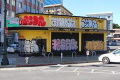 (nobammermane) Tags: bayarea graffiti aidz 2much berg oakland closeypc elohs