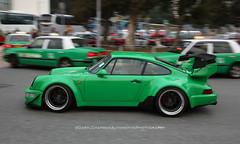 "Porsche, ""Rauh-Welt"" 964, Hong Kong (Daryl Chapman Photography) Tags: gw999 porsche 964 911 rwb hongkong china sar canon 5d mkiii 2470mm auto autos automobile automobiles carspotting carphotography"