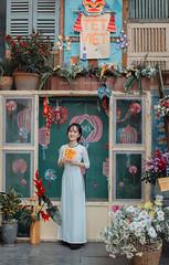 Giang 5 (Lê Đình Tuấn) Tags: áo dài ao dai chân dung portraiture ldt lđt photo