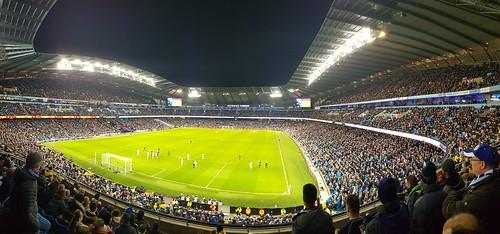 Etihad Stadium panoramic