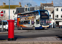 Substitution (Richie B.) Tags: sn66vvd adl alexander dennis enviro 400 teignmouth devon stagecoach south west