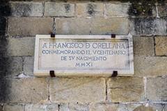 Francisco de Orellana (Rafa Gallegos) Tags: trujillo cáceres extremadura españa spain piedra stone placa historia histórico franciscodeorellana