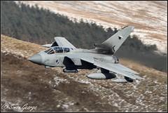 Monster-5557 (simon_x_george) Tags: 2018lfa7waleslowflymachloop gr4 tornado marham 31sqn goldstars aviaton jet military lfa7 lowfly mach loop