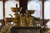 Chagri Monastery (S. Torres) Tags: bhoutan bhutan bouddhisme buddhism monastery monastère stupa candel bougie monk gong or gold golden doré meditation prière drapeauxdeprière prayerflags prayer