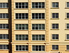 a Florida project-3 (albyn.davis) Tags: usa florida building architecture geometry windows color yellow gold lines pattern rectangles shapes
