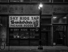 The Loop, Chicago 2018 (piano62) Tags: chicago theloop oldschool blight citylife neglect streetscenes blackandwhite monochrome sonya7rii cintar50mmf35
