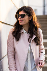 Pink leather jacket, white silk blouse, grey denim, silver mules-20.jpg (LyddieGal) Tags: athleta grayson lineapelle blush coloreddenim denim fashion gap grey jcrew leatherjacket loafers mules officestyle outfit rayban silkblouse silver spring style sunglasses tjmaxx vionic wardrobe weekendstyle white