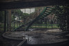 Stairway to hell (JG - Instants of light) Tags: darkness abandoned creepy scary vandalized destruction decay architecture escadaria inferno trevas arrepiante assustador vandalizado destruição decadente arquitectura urbanexploration exploraçãourbana urbex nikon d5500 sigma 1020 portugal