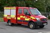 West Sussex - HX64LDE - Storrington (matthewleggott) Tags: west sussex fire rescue service engine appliance hx64lde storrington mercedes benz sprinter 4x4 w h bence
