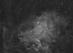 Flaming Star Nebula (Photonen-Sammler) Tags: ic405 ic 405 flaming star nebula narrow band astrophotography astronomy