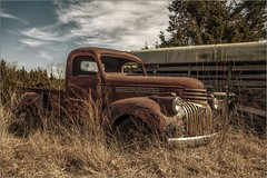 Another old Chevy Truck - Happy Truck Thursday (A Anderson Photography, over 2.2 million views) Tags: chevy chevrolet pickup canon rust