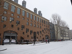 UCL SSEES in the snow (Richard and Gill) Tags: ssees ucl uclssees tavitonstreet universitycollegelondon london bloomsbury snow