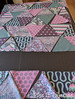 Tula Pink Triangles quilt (pigsinpajamas) Tags: tulapink quilt triangles sidekickruler flannel binding babyquilt baby gi freemotion long